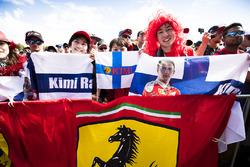 Fans de Kimi Raikkonen