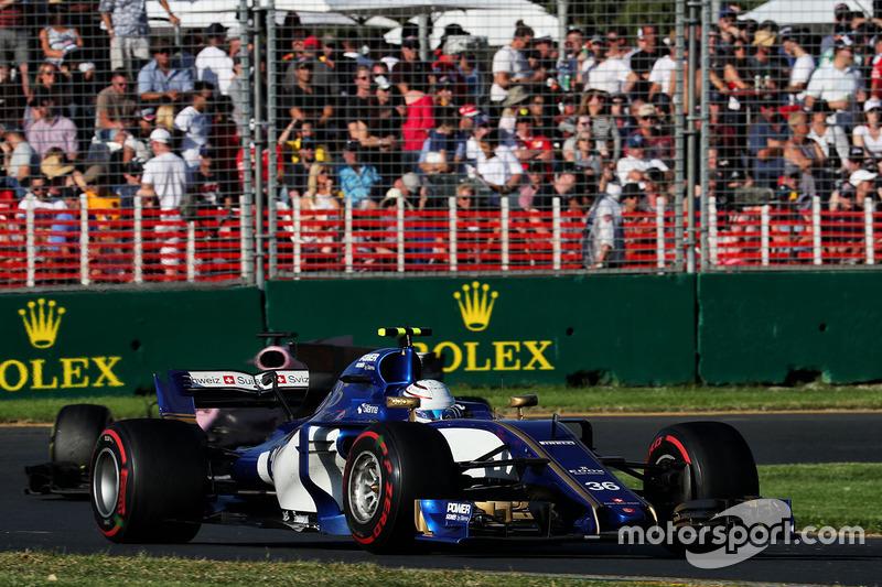 12e : Antonio Giovinazzi (Sauber)