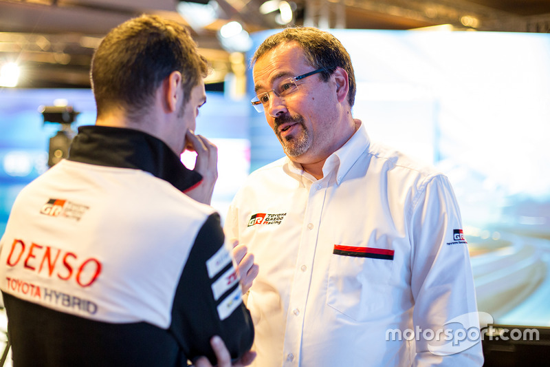 Rob Leupen, director del equipo Toyota Racing