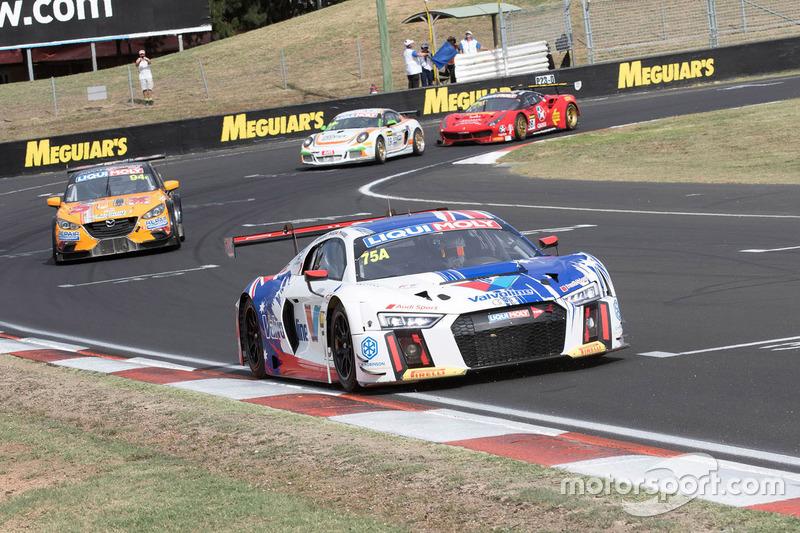 #75 Jamec Pem Racing, Audi R8 LMS: Markus Winklehock, Robin Frijns, Frank Stippler