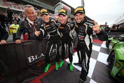 2017 champions #63 GRT Grasser Racing Team Lamborghini Huracan GT3: Christian Engelhart, Mirko Bortolotti, Andrea Caldarelli