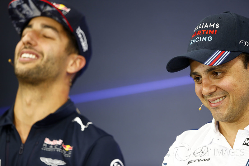 Daniel Ricciardo, Red Bull Racing, Felipe Massa, Williams