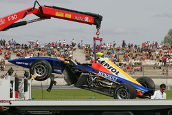 Unfallauto von Ernesto Viso, Racing Engineering