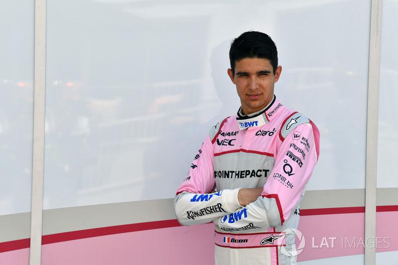 Esteban Ocon, Sahara Force India F1  (Contrato hasta final de 2018)