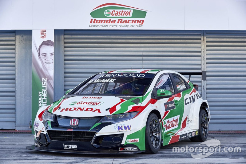 Машина Норберта Міхеліса, Honda Racing Team JAS, Honda Civic WTCC