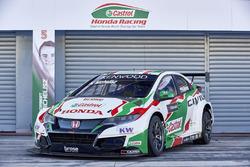 El coche de Norbert Michelisz, Honda Racing Team JAS, Honda Civic WTCC