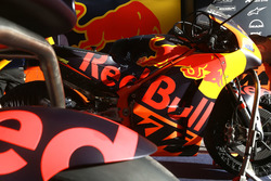 Bike of Bradley Smith, Red Bull KTM Factory Racing