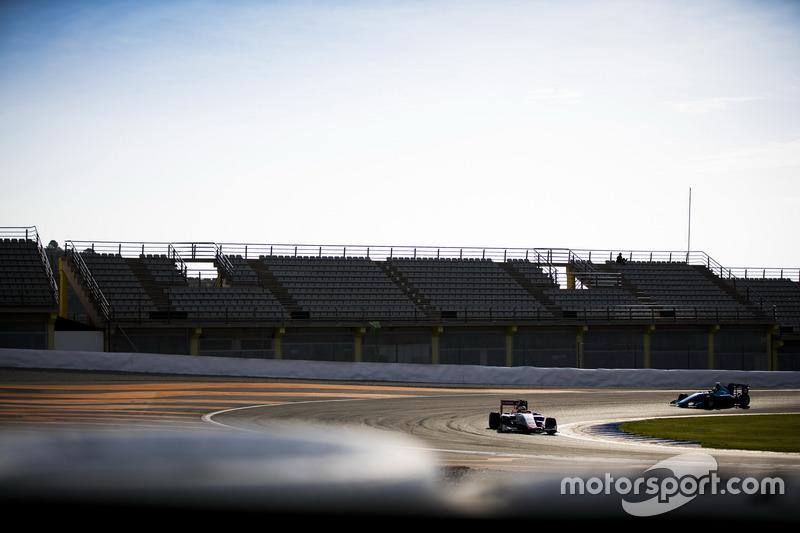 Raoul Hyman, Campos Racing and Alessio Lorandi, Jenzer Motorsport