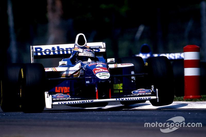13. Williams FW19 Renault, Формула 1