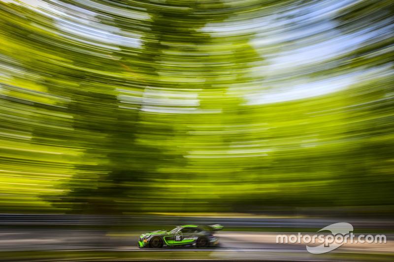 #86 Mercedes-AMG Team HTP Motorsport, Mercedes-AMG GT3: Michael Avenatti, Damien Faulkner, Mike Skeen