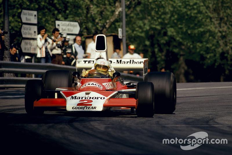 Jochen Mass (McLaren) - GP Espagne 1975