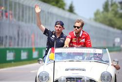 Макс Ферстаппен, Red Bull, Себастьян Феттель, Ferrari, на параді пілотів