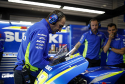 Team Suzuki MotoGP mechanic