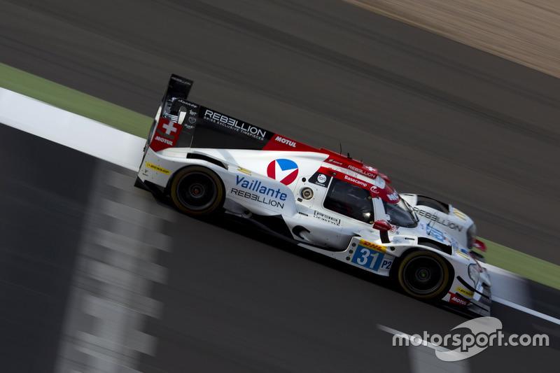 #31 Vaillante Rebellion Racing, Oreca 07 Gibson: Julien Canal, Bruno Senna, Nicolas Prost