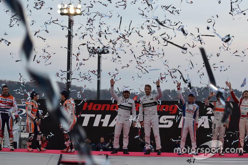 Honda Racing THANKS DAY 2016 フィナーレ