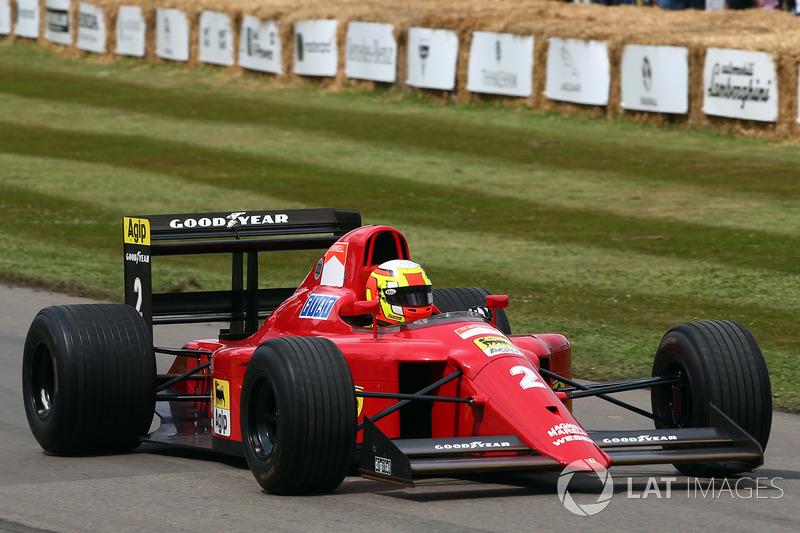 Olivier Beretta, Ferrari 641
