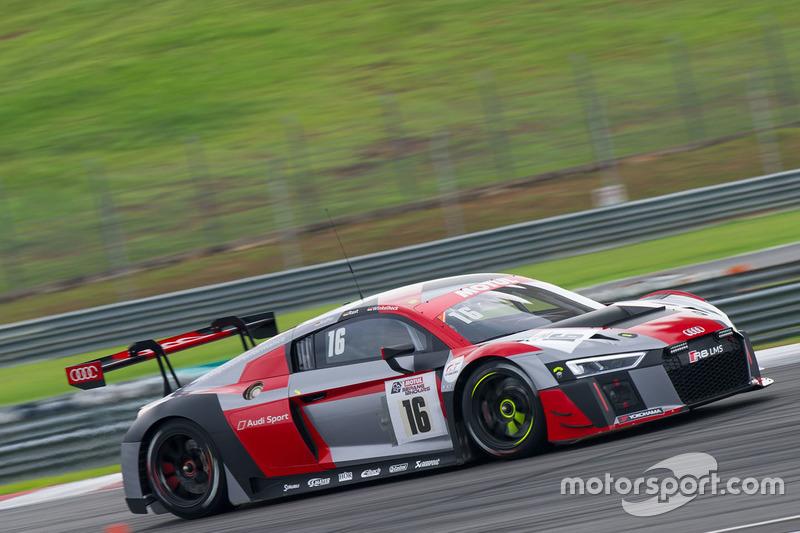 #16 Audi Sport Team Phoenix Audi R8 LMS: Pierre Kaffer, René Rast, Markus Winkelhock