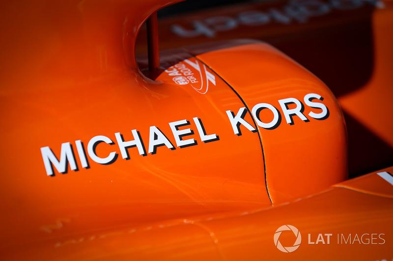 Аеродинамічні елементи McLaren MCL32