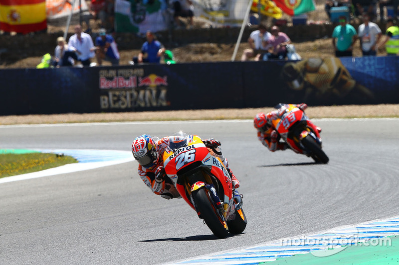 Pedrosa and Marc Marquez, Repsol Honda Team