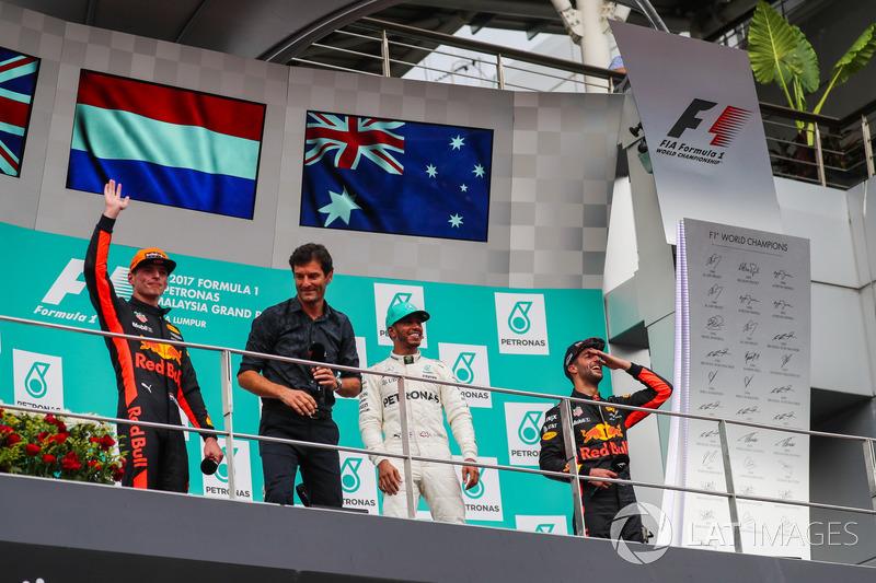 Льюіс Хемілтон, Mercedes AMG F1, Макс Ферстаппен, Даніель Ріккардо, Red Bull Racing, Марк Веббер