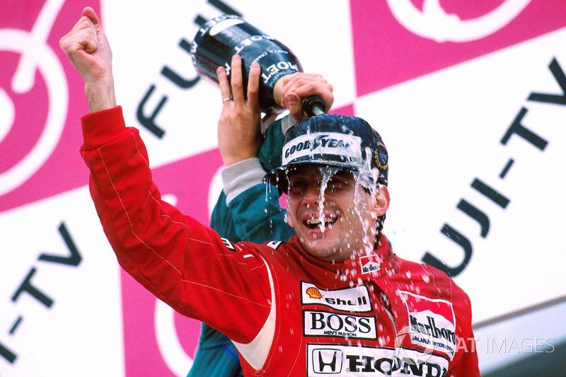 7º Ayrton Senna: 80 podios