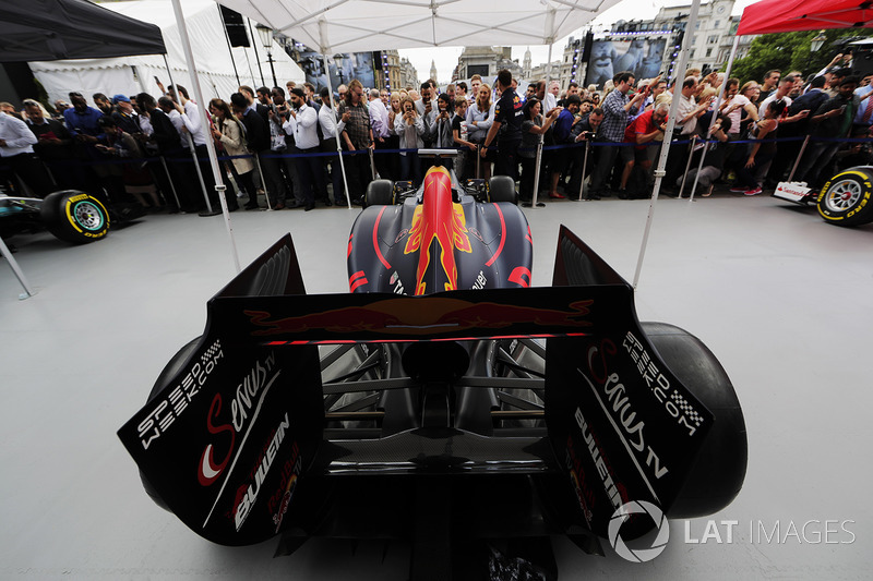 Fans di tenda Red Bull Racing