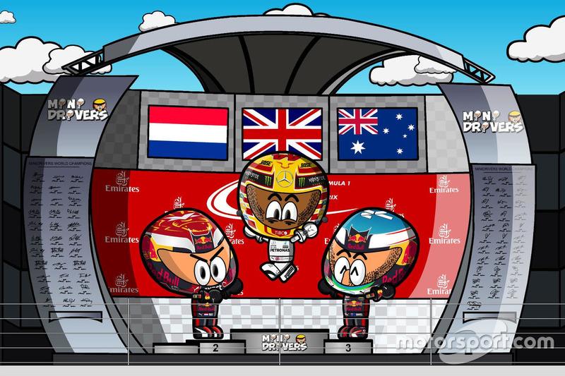 El GP de Japón 2017 de F1 según Los MiniDrivers