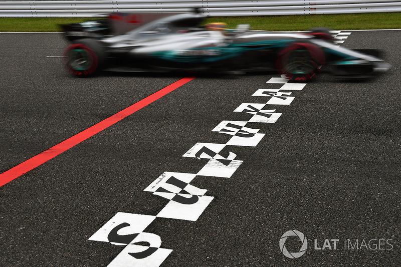 Hamilton sumó la 71 un fin de semana después en Japón