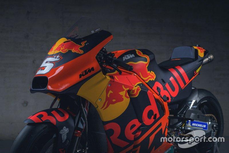 Мотоцикл KTM RC16 Жоана Зарко, Red Bull KTM Factory Racing