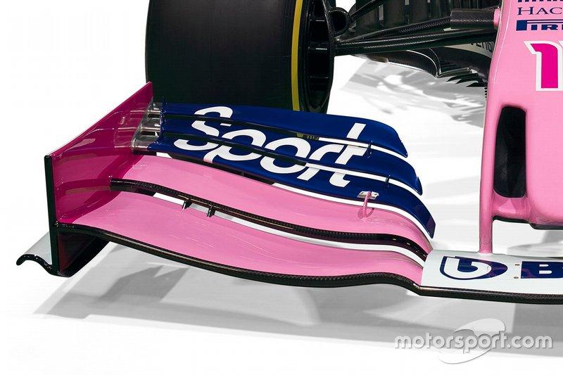 Presentación Racing Point detalles