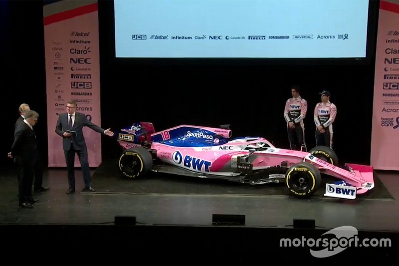 Racing Point 2019 livery