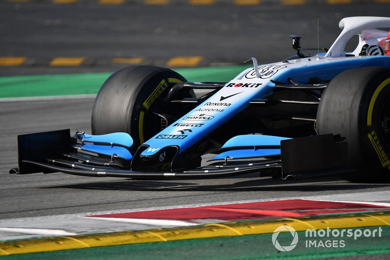 Morro y alerón del Williams FW42