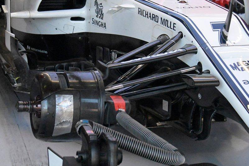 Alfa Romeo Racing C38, részlet