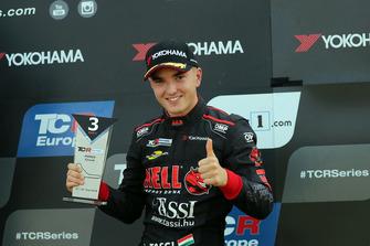 Podium: Attila Tassi, Hell Energy Racing with KCMG Honda Civic Type R TCR