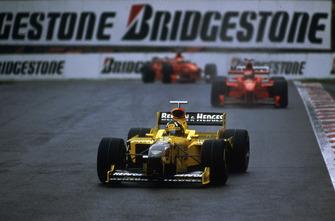 Damon Hill, Jordan 198