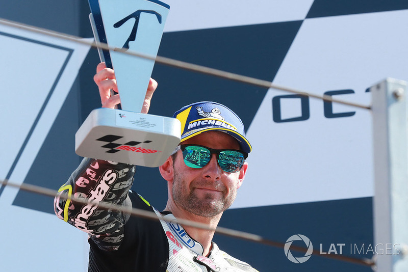 Podio: il terzo classificato Cal Crutchlow, Team LCR Honda