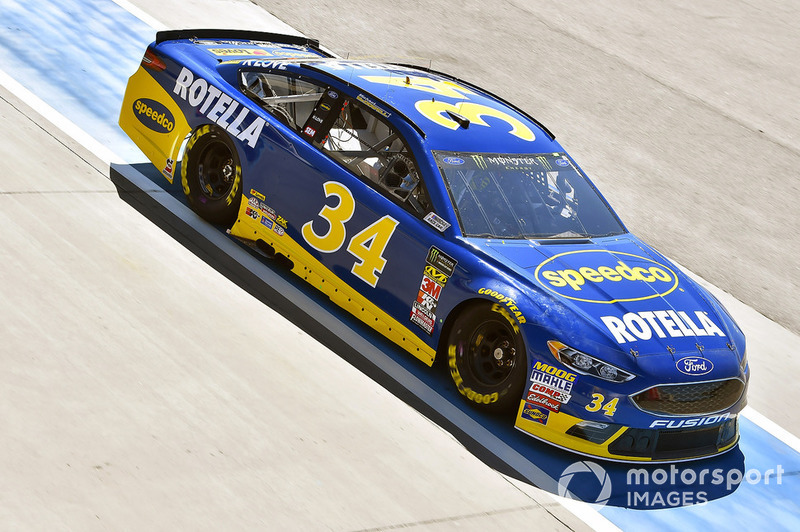 Michael Mcdowell Front Row Motorsports Ford Fusion Sdco Rotella