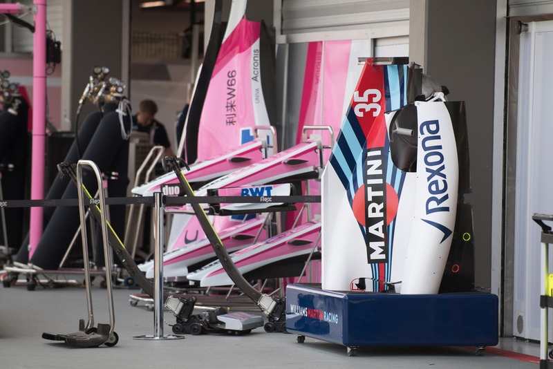 Bodywork Williams dan Force India