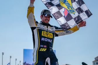 Race winner Alex Tagliani