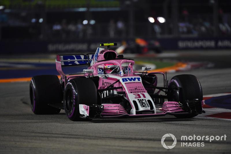 9: Эстебан Окон, Racing Point Force India VJM11
