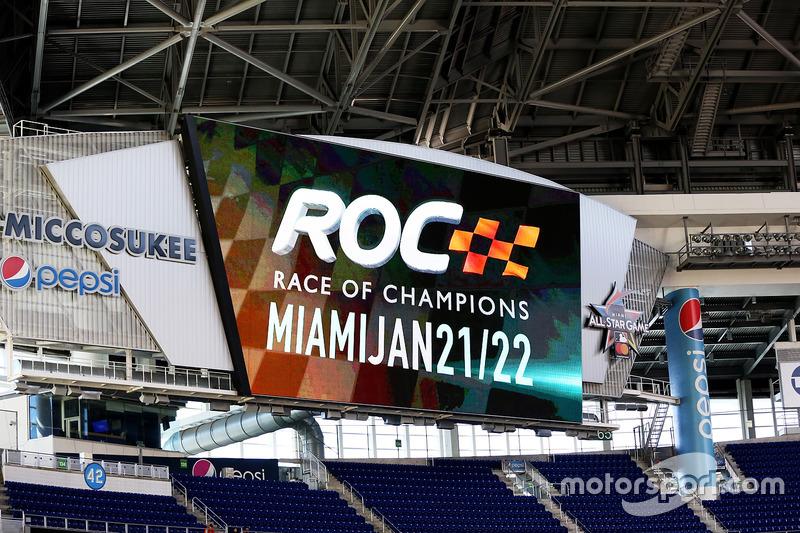 Race of Champions  marca en el estadio