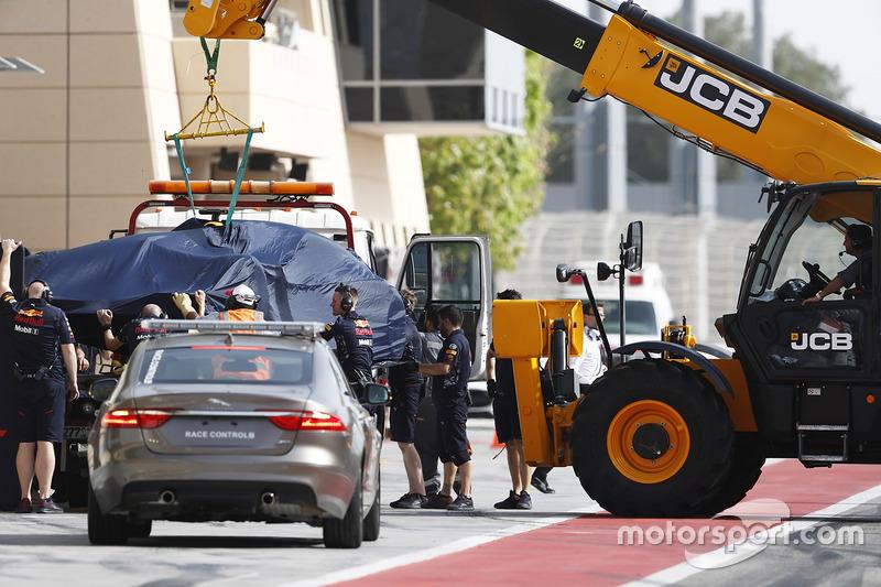 El coche de Daniel Ricciardo, Red Bull Racing RB13