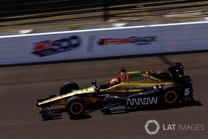 17. James Hinchcliffe, Schmidt Peterson Motorsports Honda