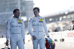 Gary Paffett, Mercedes-AMG Team HWA, Mercedes-AMG C63 DTM e Robert Wickens, Mercedes-AMG Team HWA, Mercedes-AMG C63 DTM