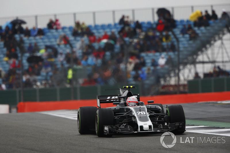 Кевін Магнуссен, Haas F1 Team VF-17.