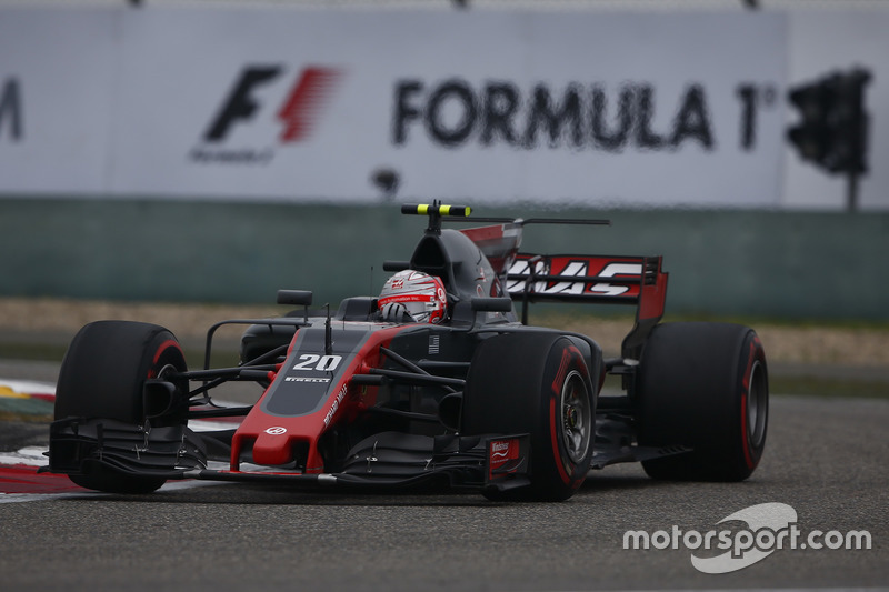 8e : Kevin Magnussen (Haas F1)