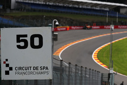Eau rouge and marker board
