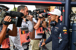 Franck Montagny, Pierre Gasly, Test Driver Red Bull Racing