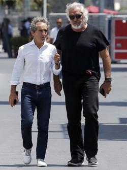 Alain Prost, Renault Sport F1 Team et Flavio Briatore