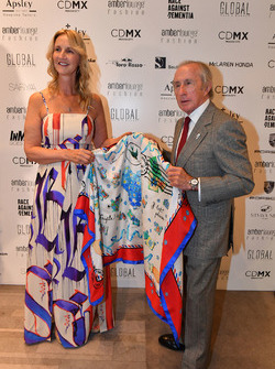 Sonia Irvine y Jackie Stewart